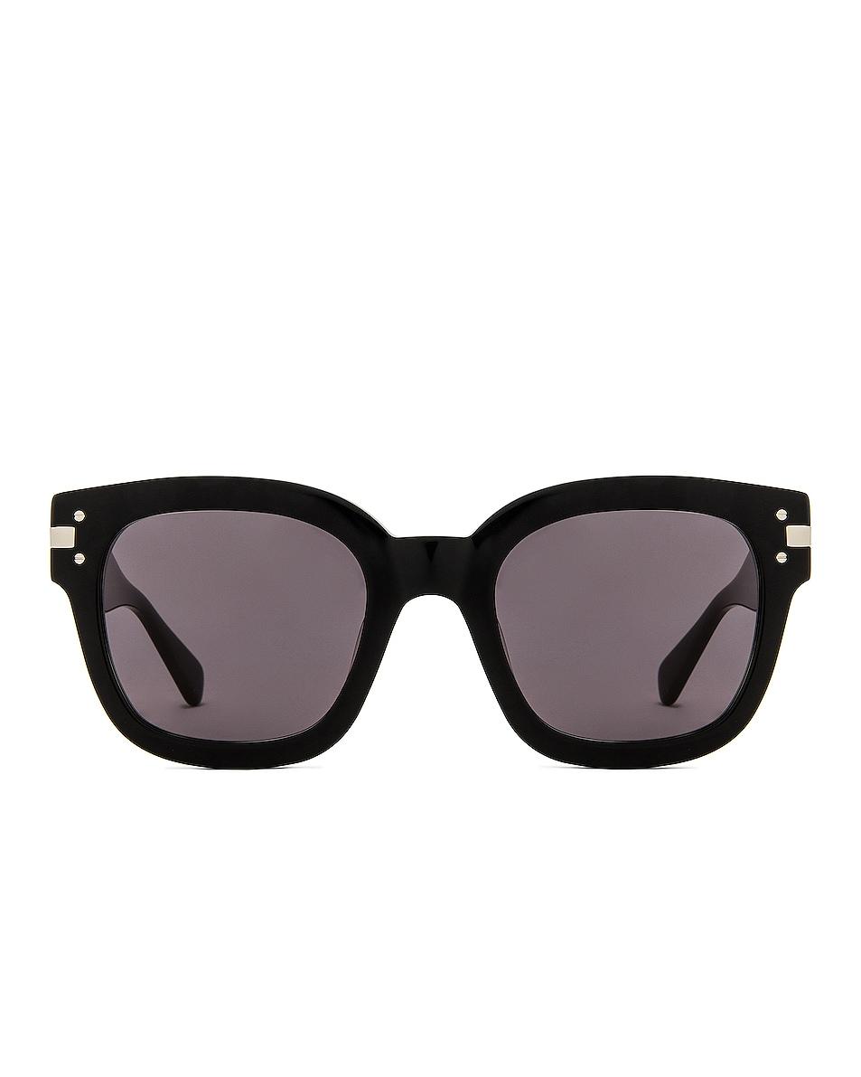 Image 1 of Amiri Classic Logo Sunglasses in Black & Grey