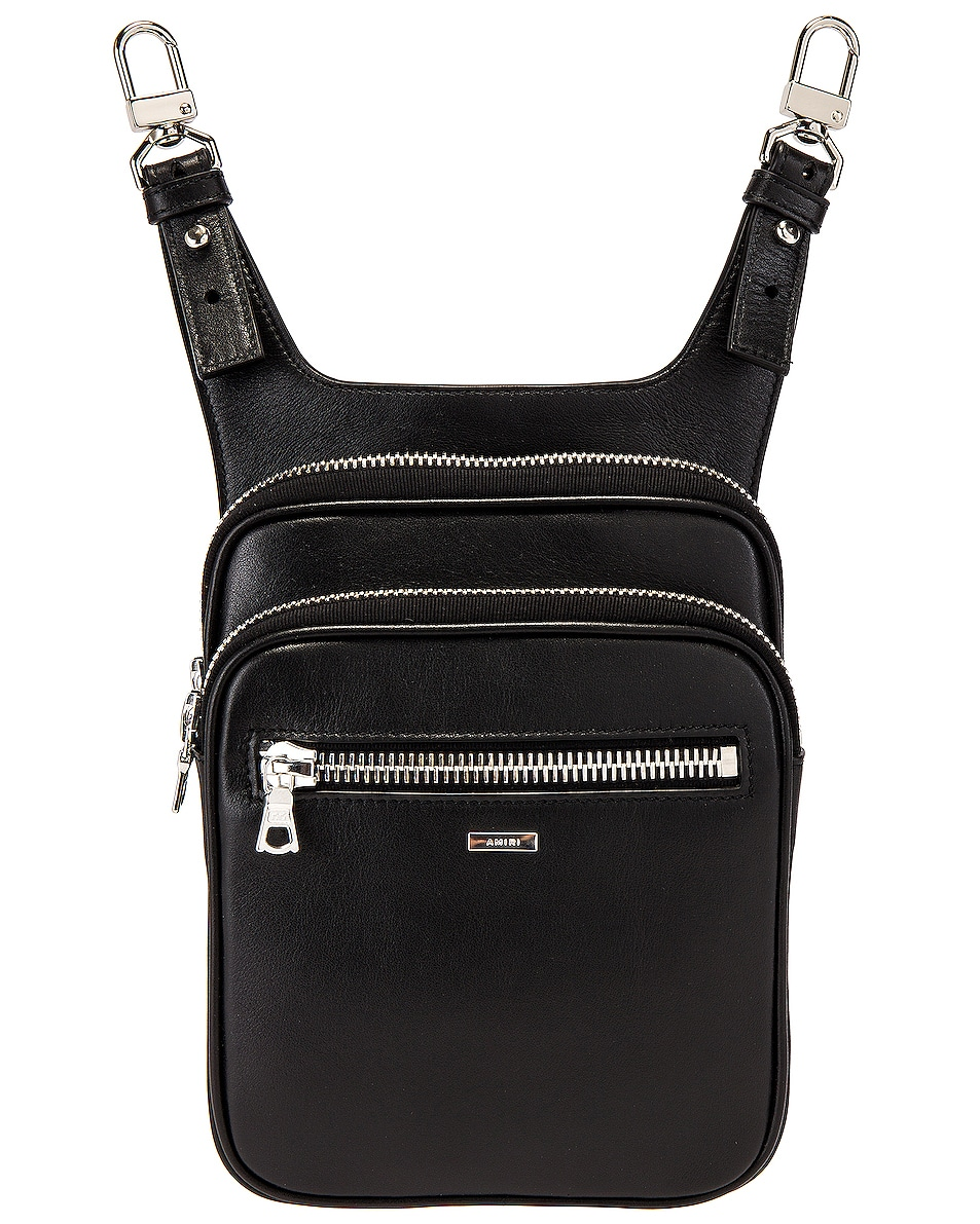 Image 1 of Amiri Hip Pouch in Black