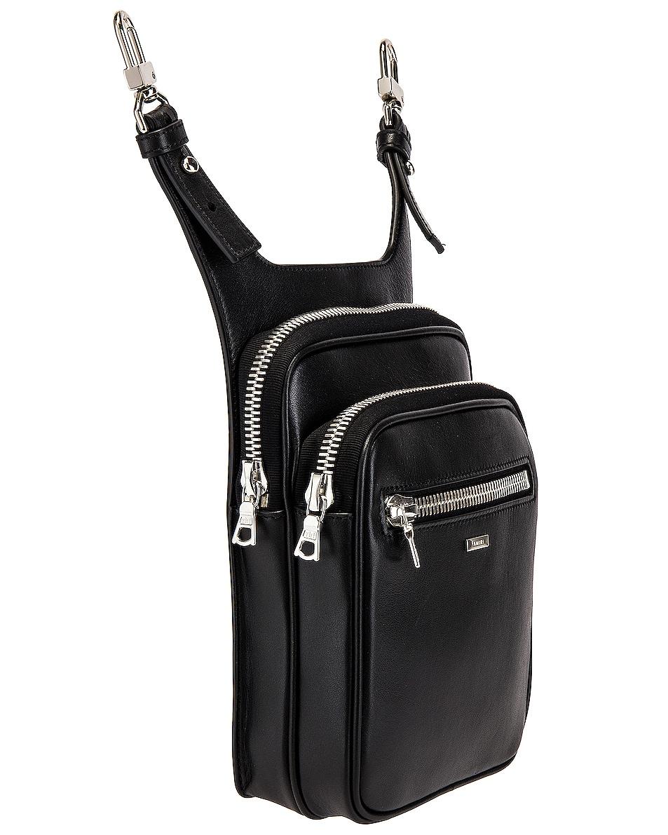 Image 3 of Amiri Hip Pouch in Black
