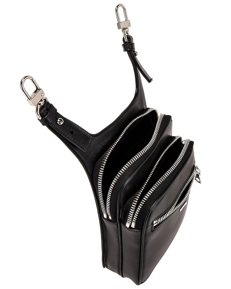 Image 4 of Amiri Hip Pouch in Black
