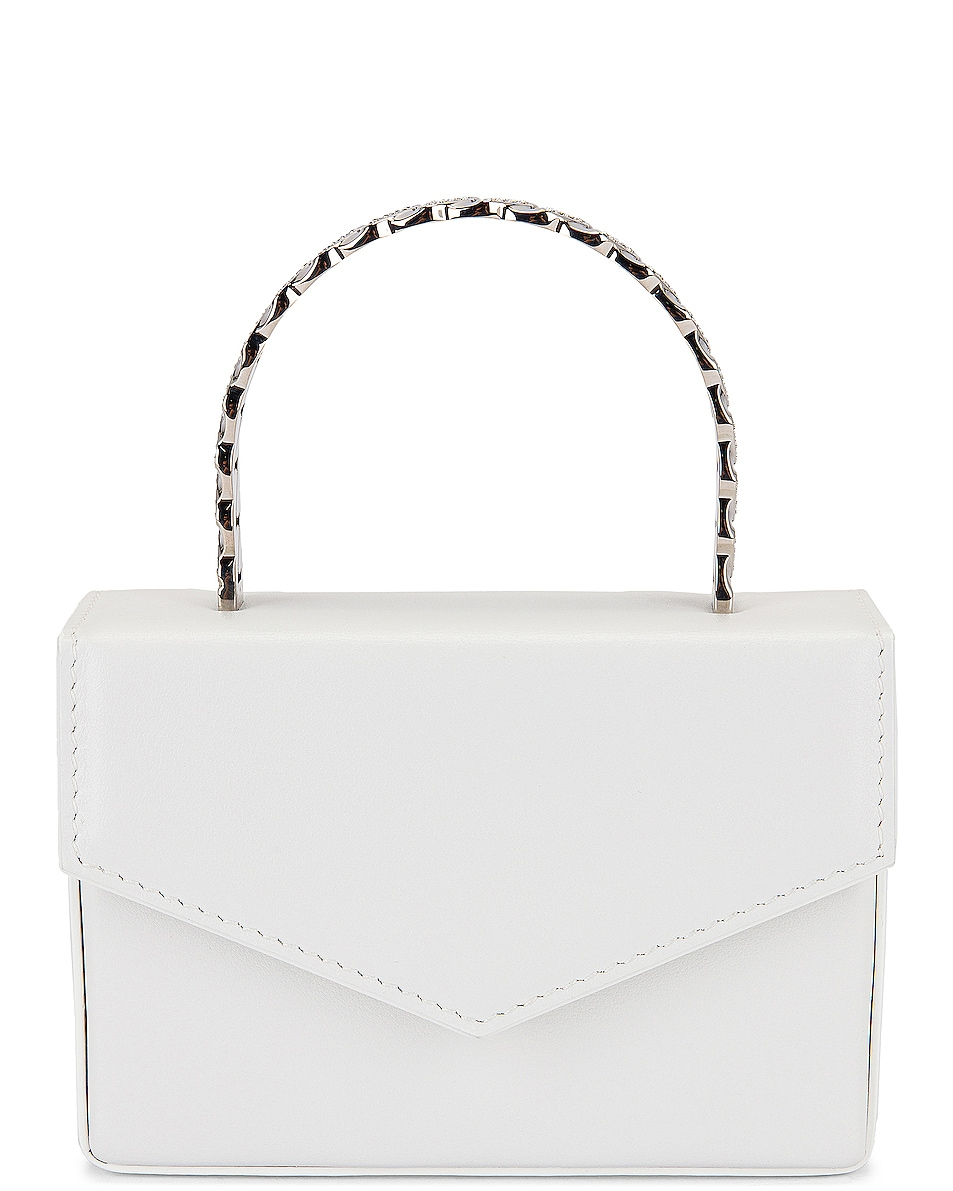 Image 1 of AMINA MUADDI Pernille Super Mini Bag in White