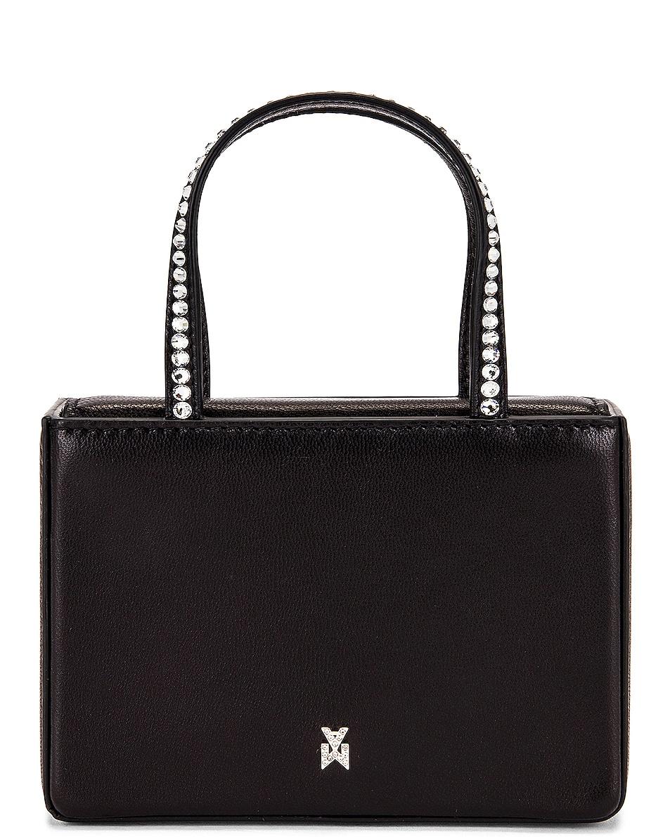 Image 1 of AMINA MUADDI Super Gilda Crystal Nappa Bag in Black