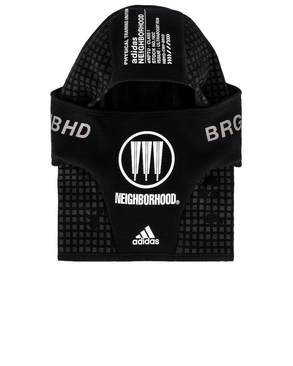 Image 1 of adidas Neighborhood Balaclava in Black