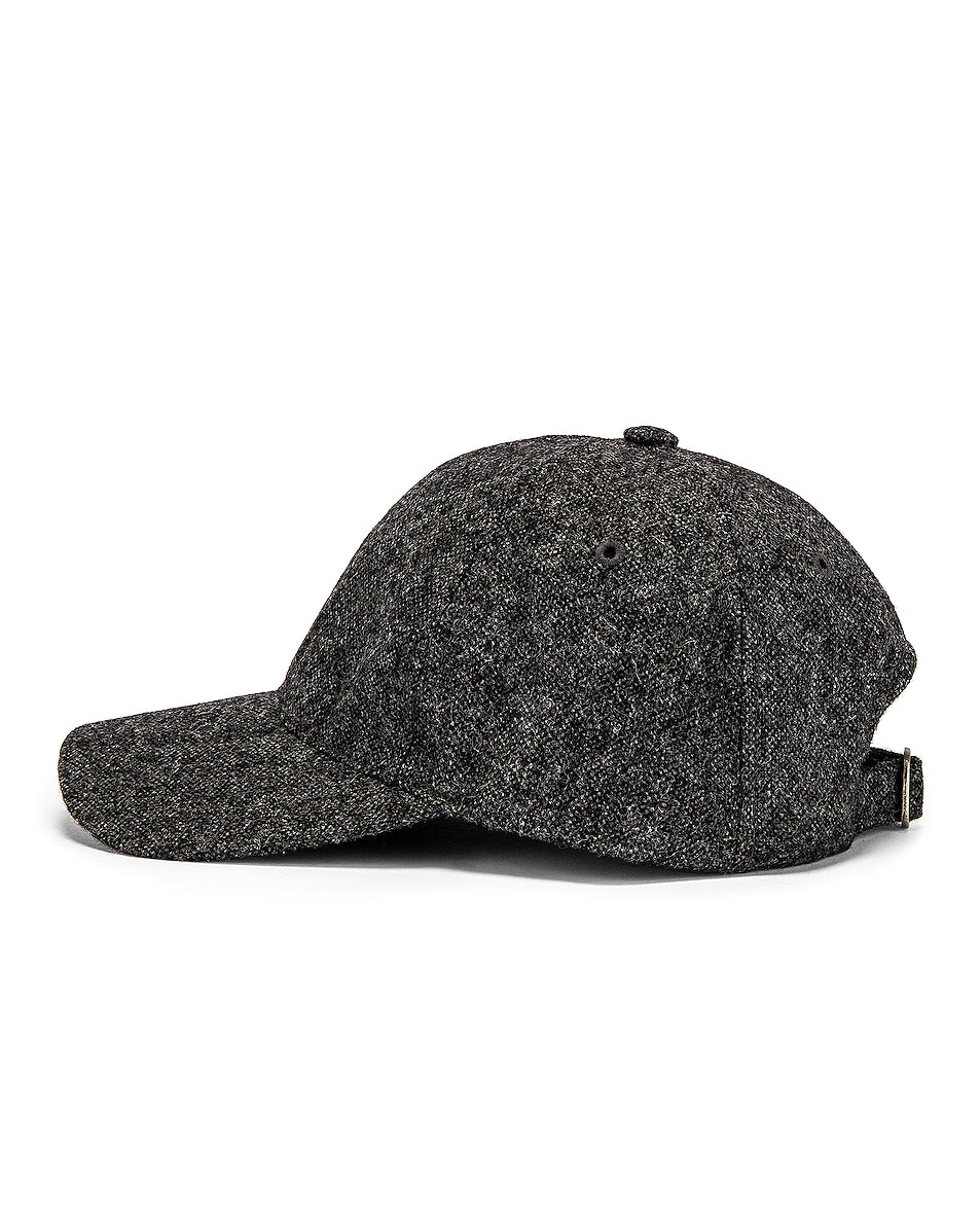 Image 3 of A.P.C. Aaron Cap in Anthracite