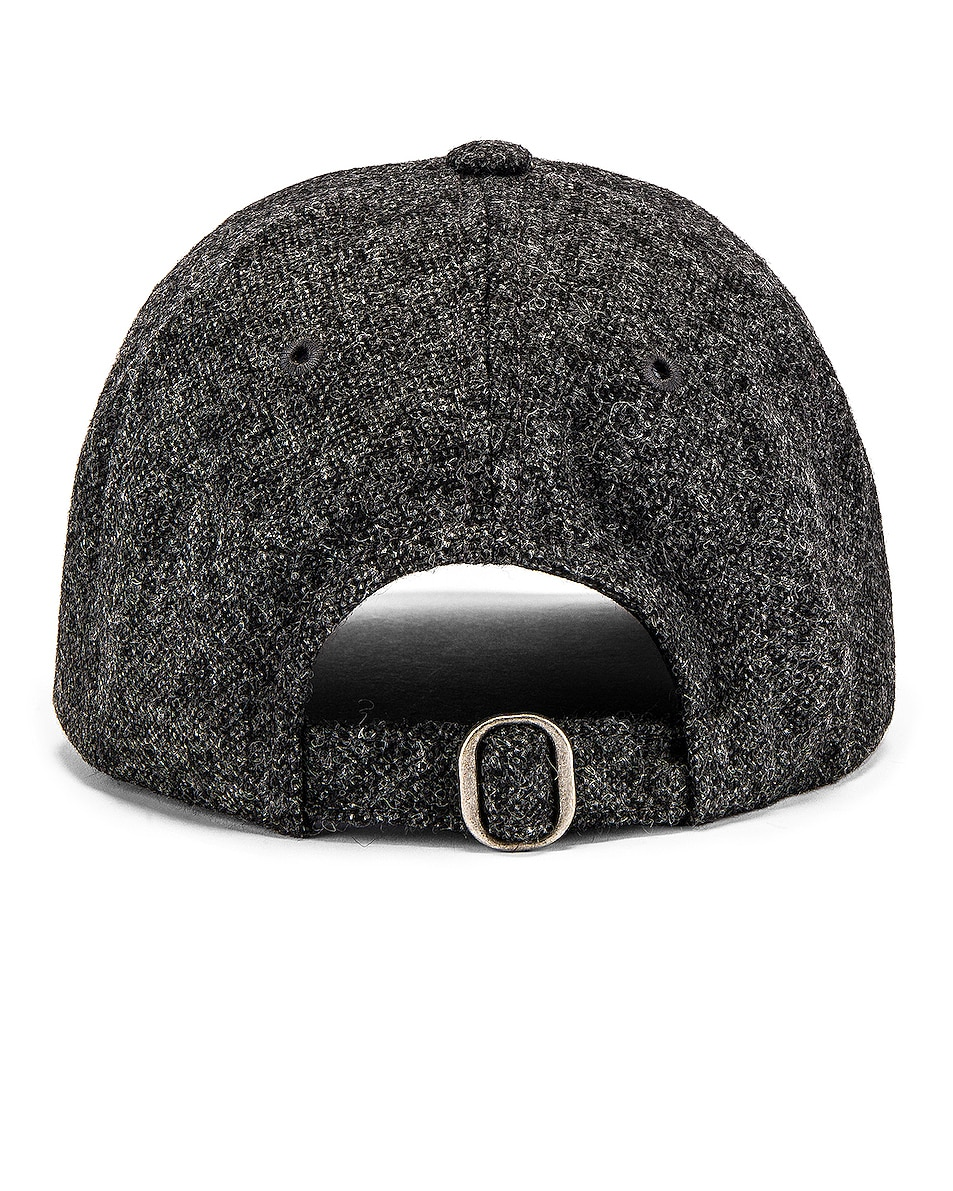 Image 4 of A.P.C. Aaron Cap in Anthracite