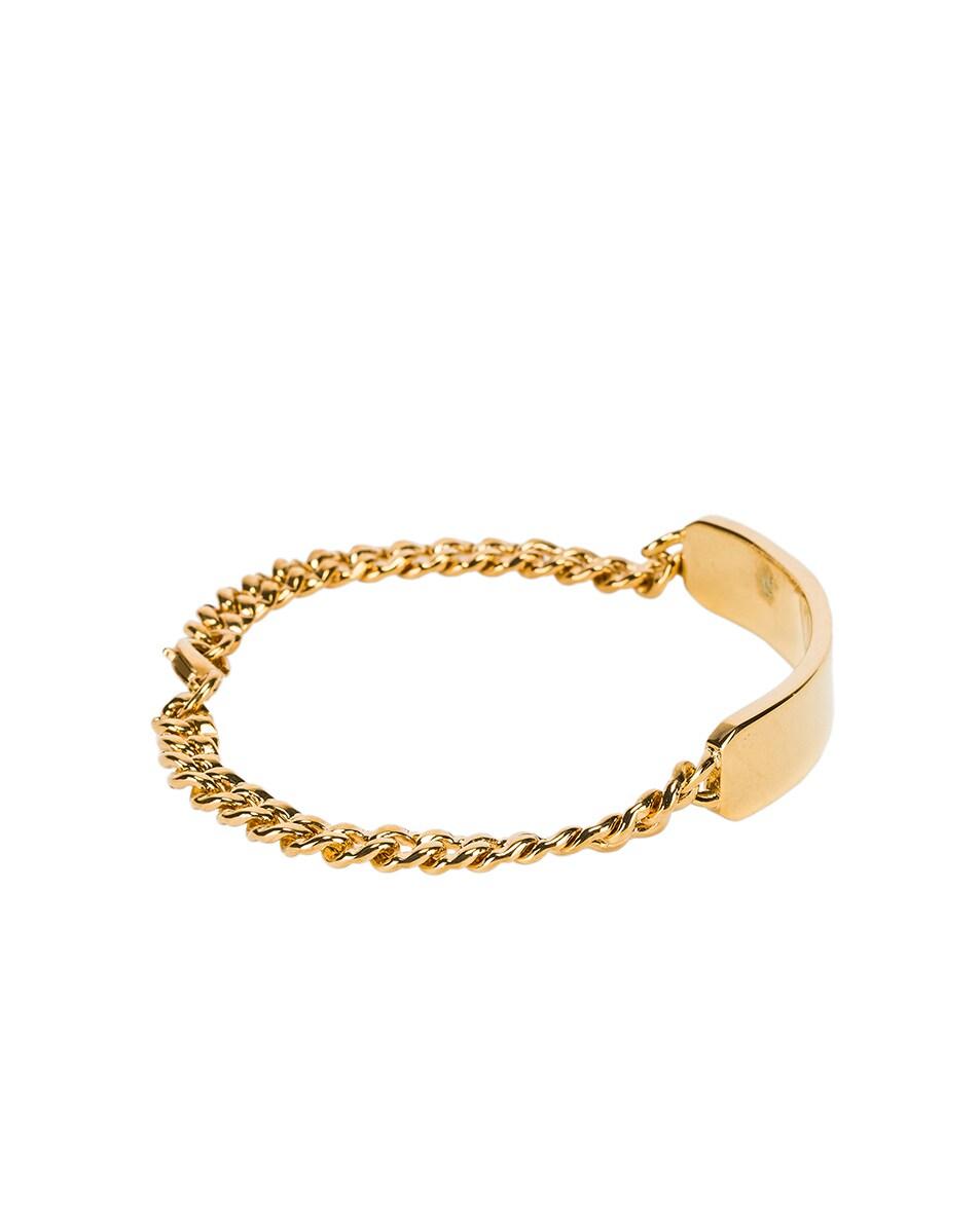 Image 2 of A.P.C. Darwin Bracelet in Ra