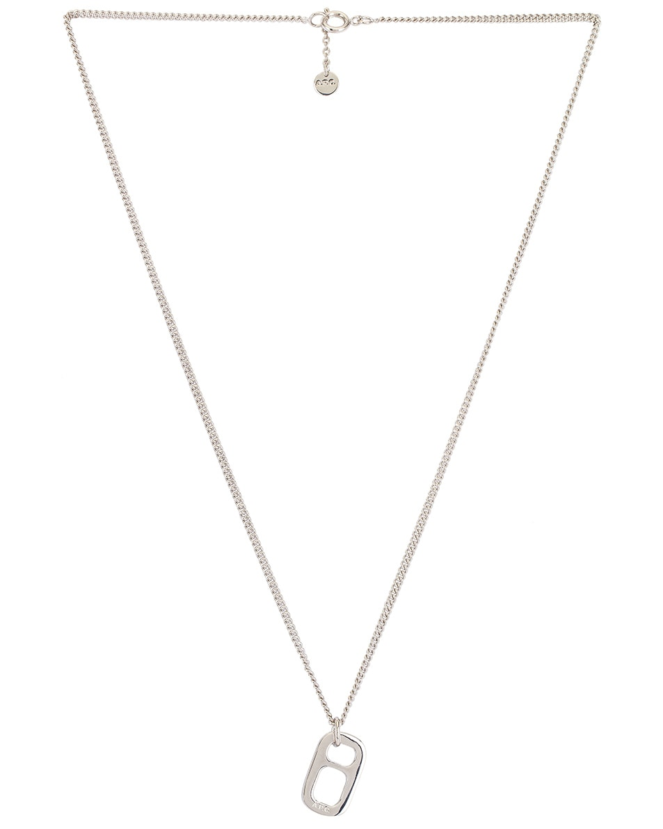 Image 2 of A.P.C. Nathan Necklace in Argent