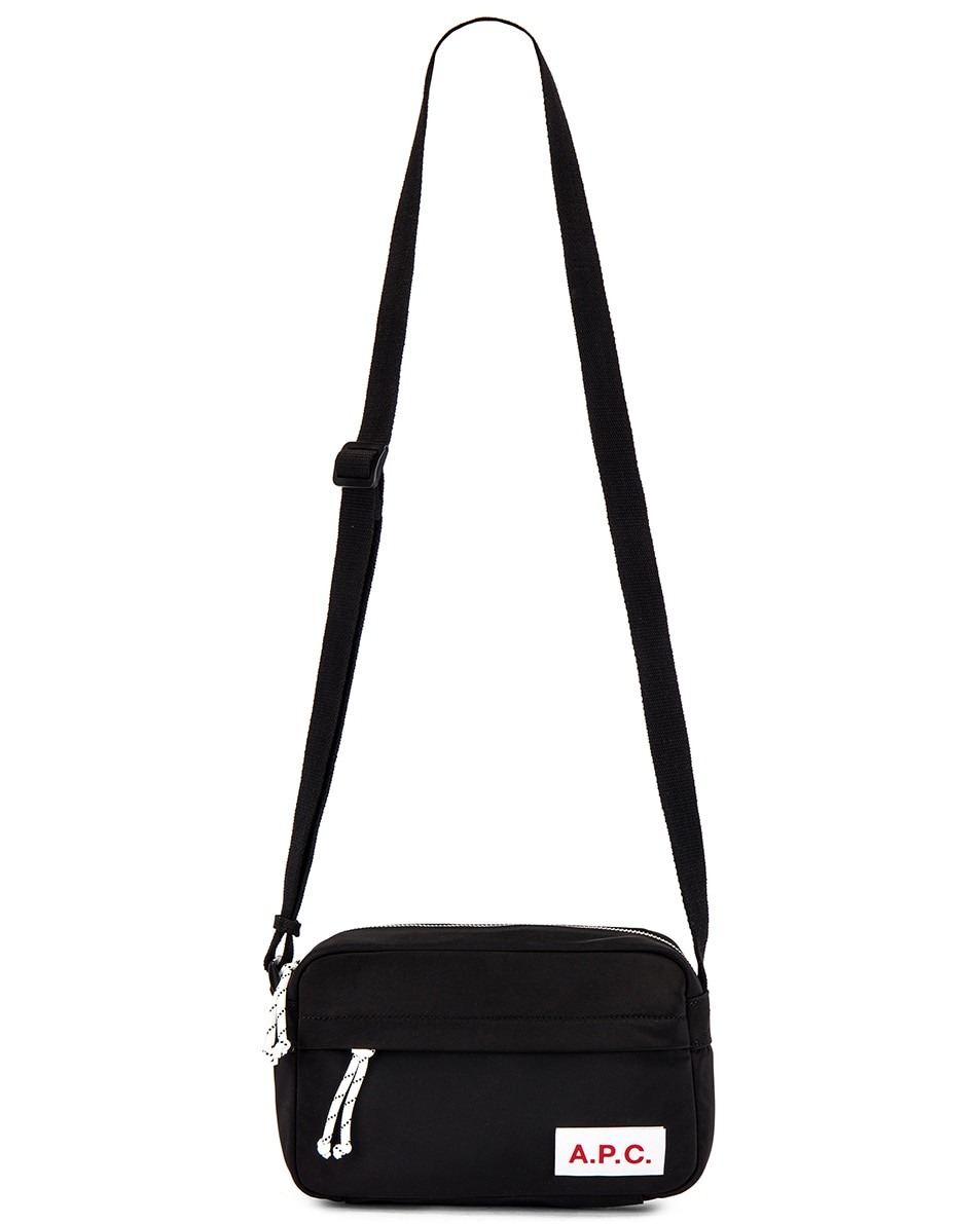 Image 5 of A.P.C. Camera Protection Bag in Noir & Multi