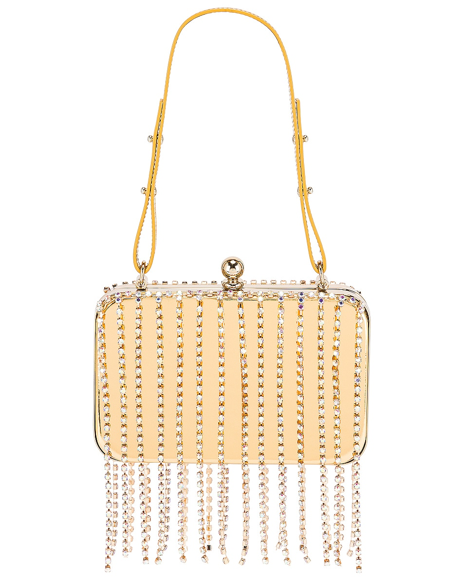 Image 1 of AREA Phone Case Bag in Gold