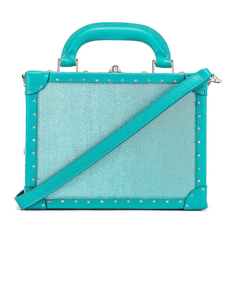 Image 1 of AREA Naomi Bag in Aqua