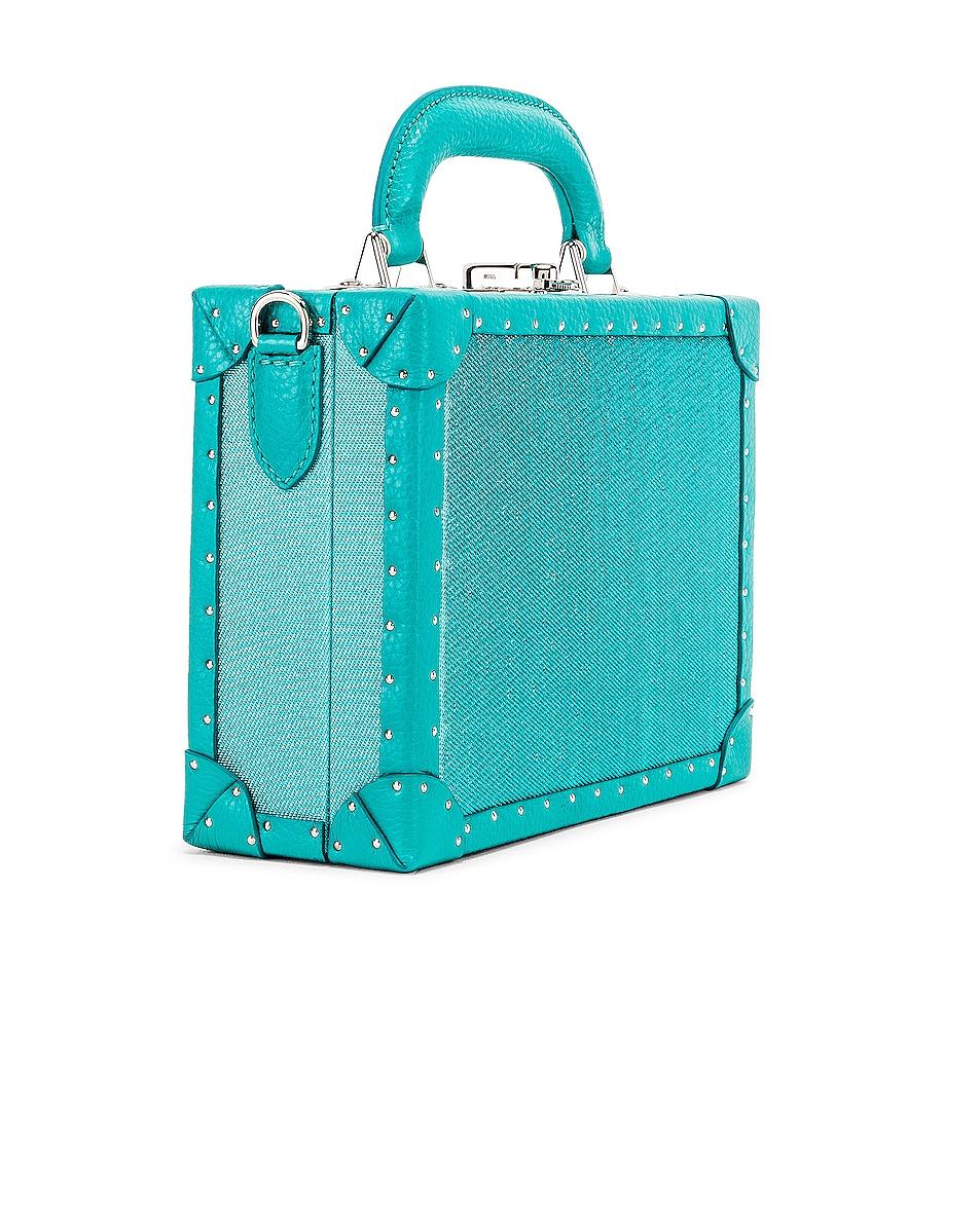 Image 4 of AREA Naomi Bag in Aqua
