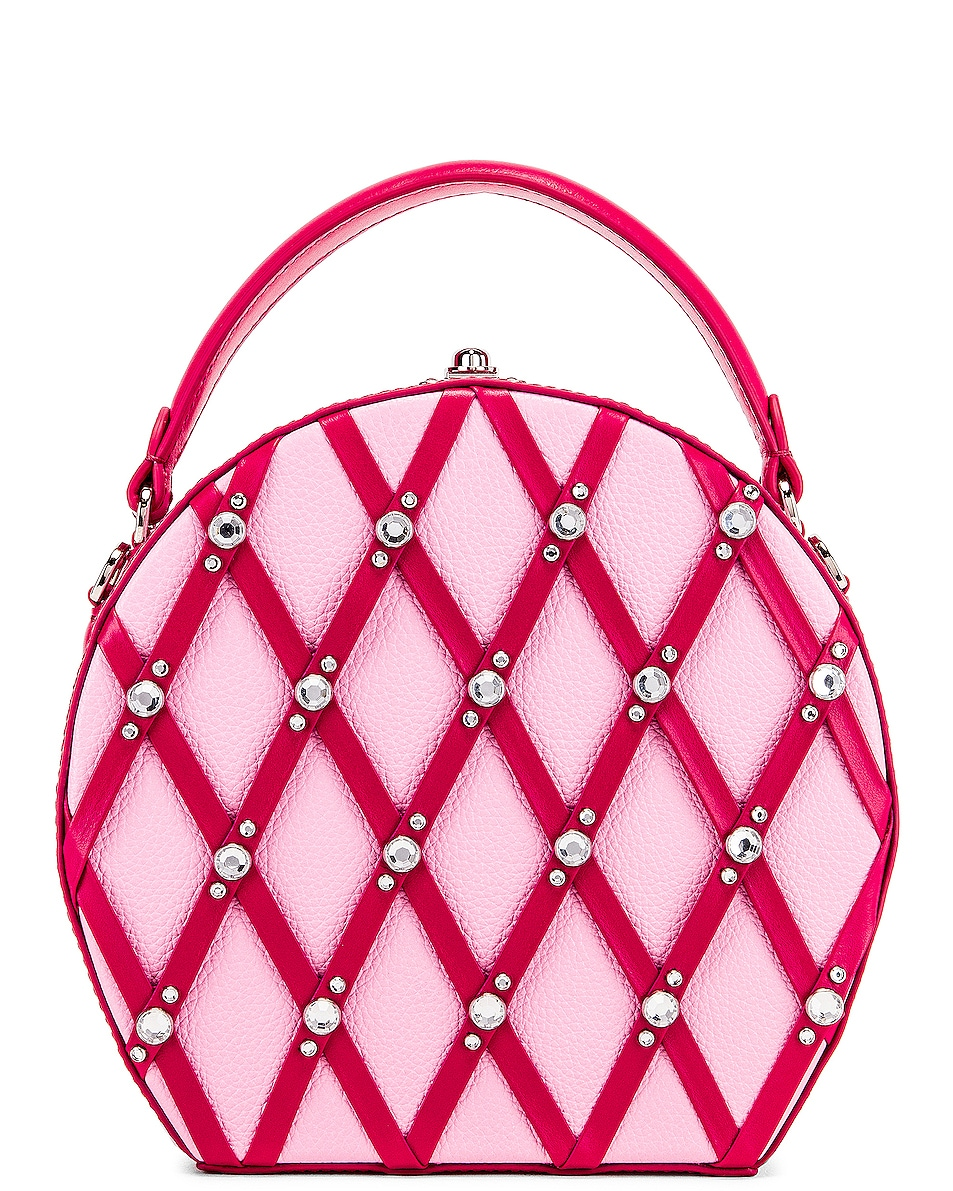 Image 3 of AREA Marcia Bag in Pink