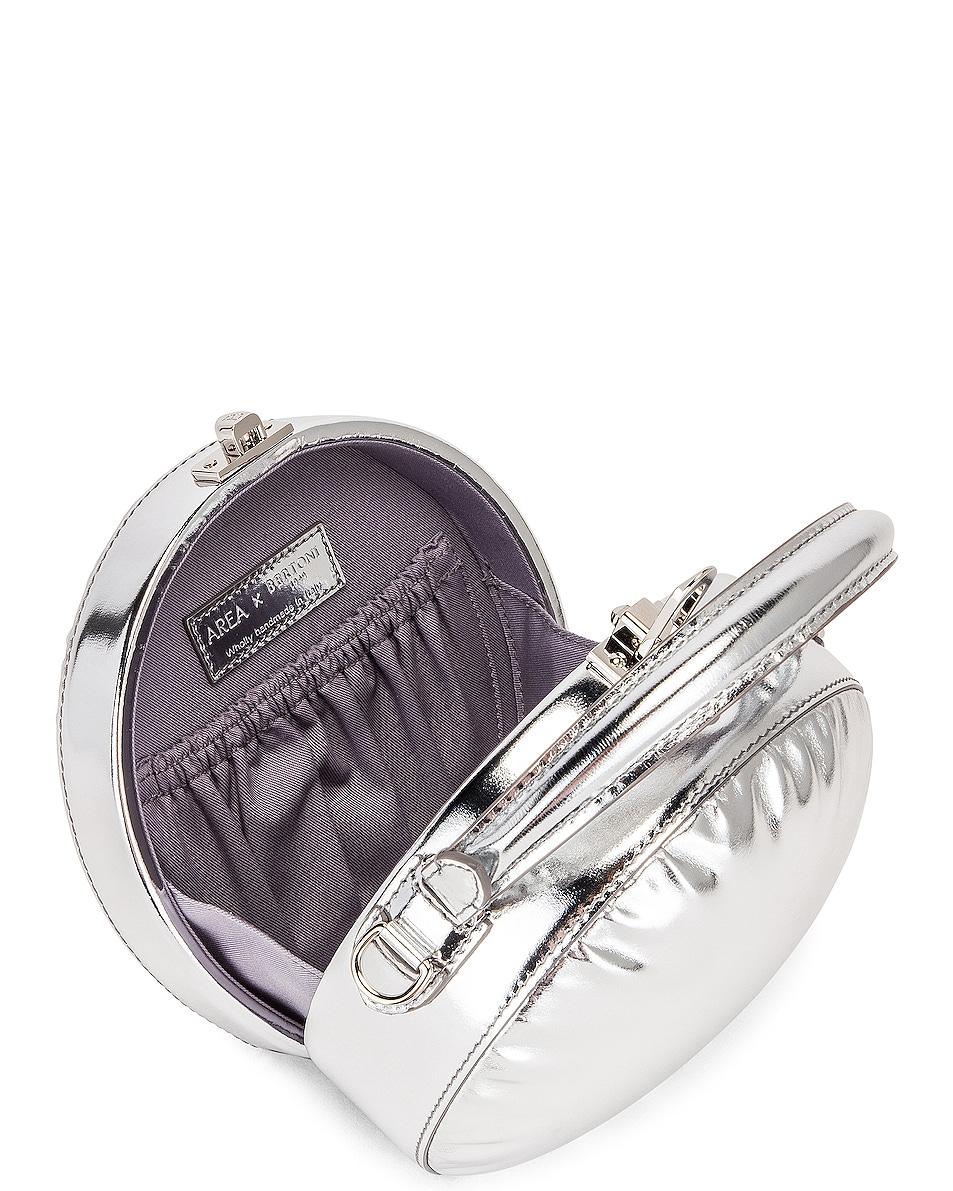 Image 5 of AREA Regina Mini Bag in Silver