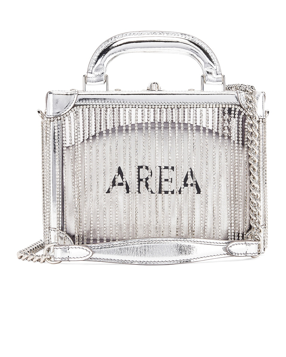 Image 1 of AREA Ling Ling Bag in Silver