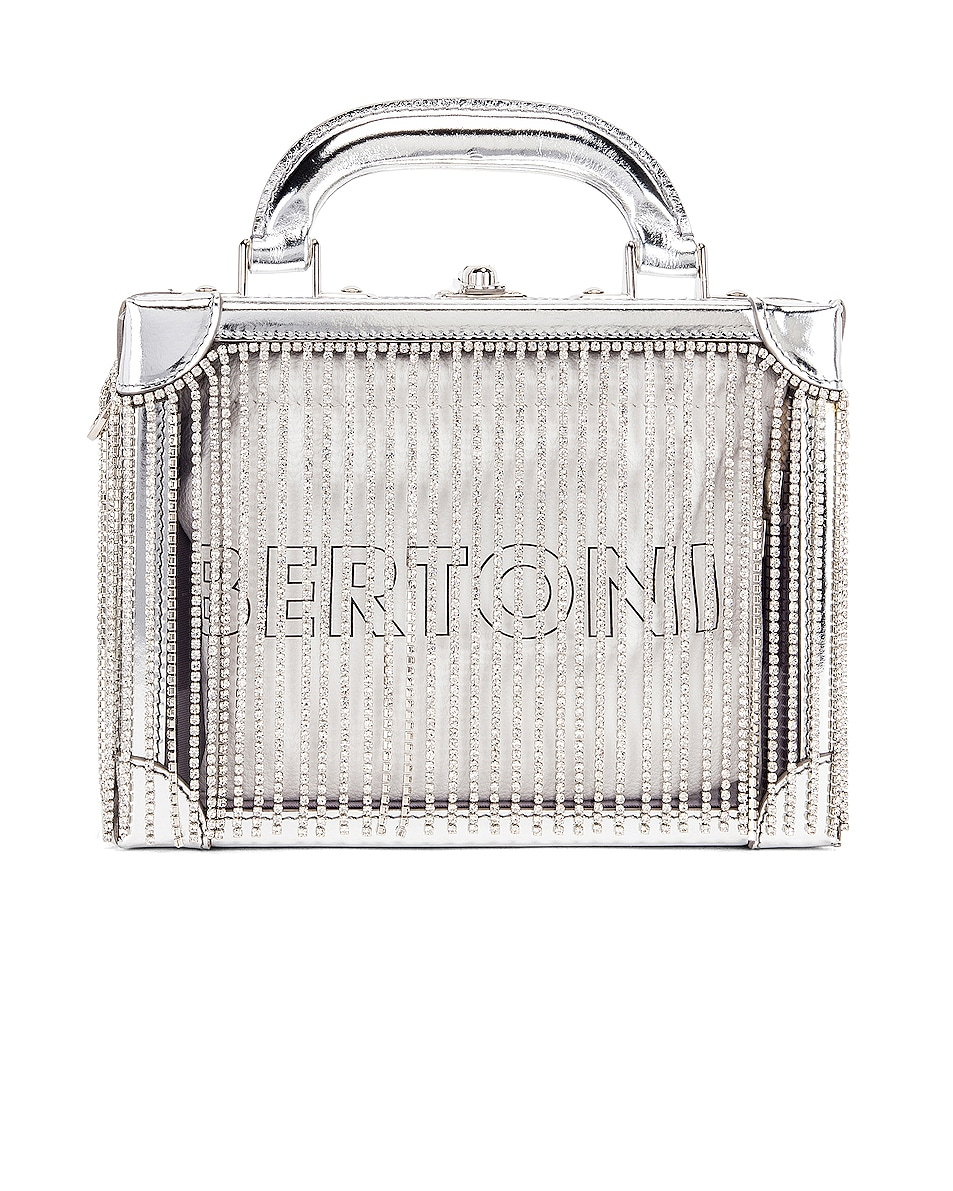 Image 3 of AREA Ling Ling Bag in Silver