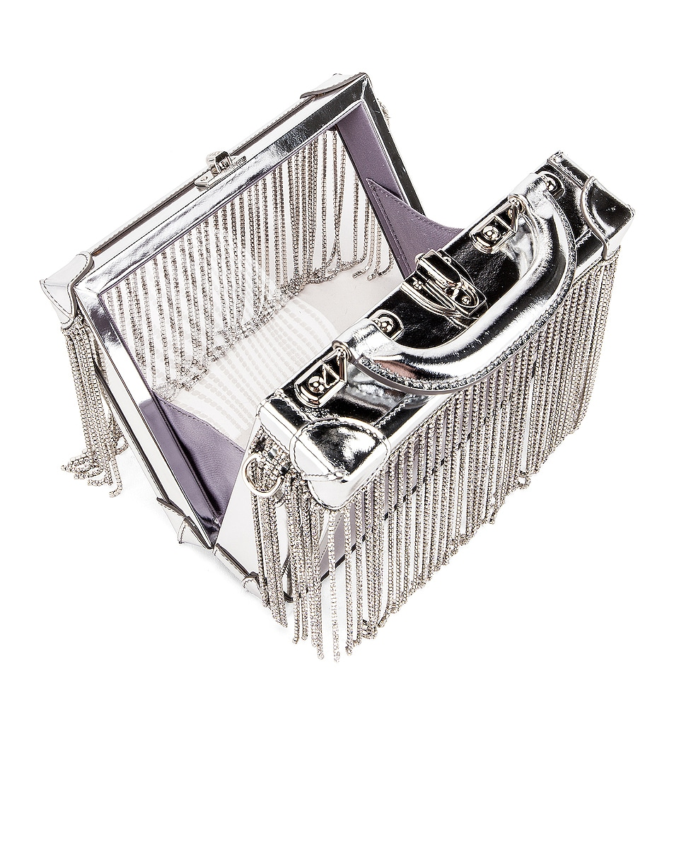 Image 5 of AREA Ling Ling Bag in Silver