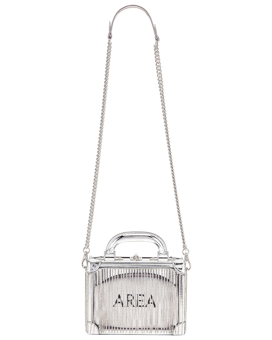 Image 6 of AREA Ling Ling Bag in Silver