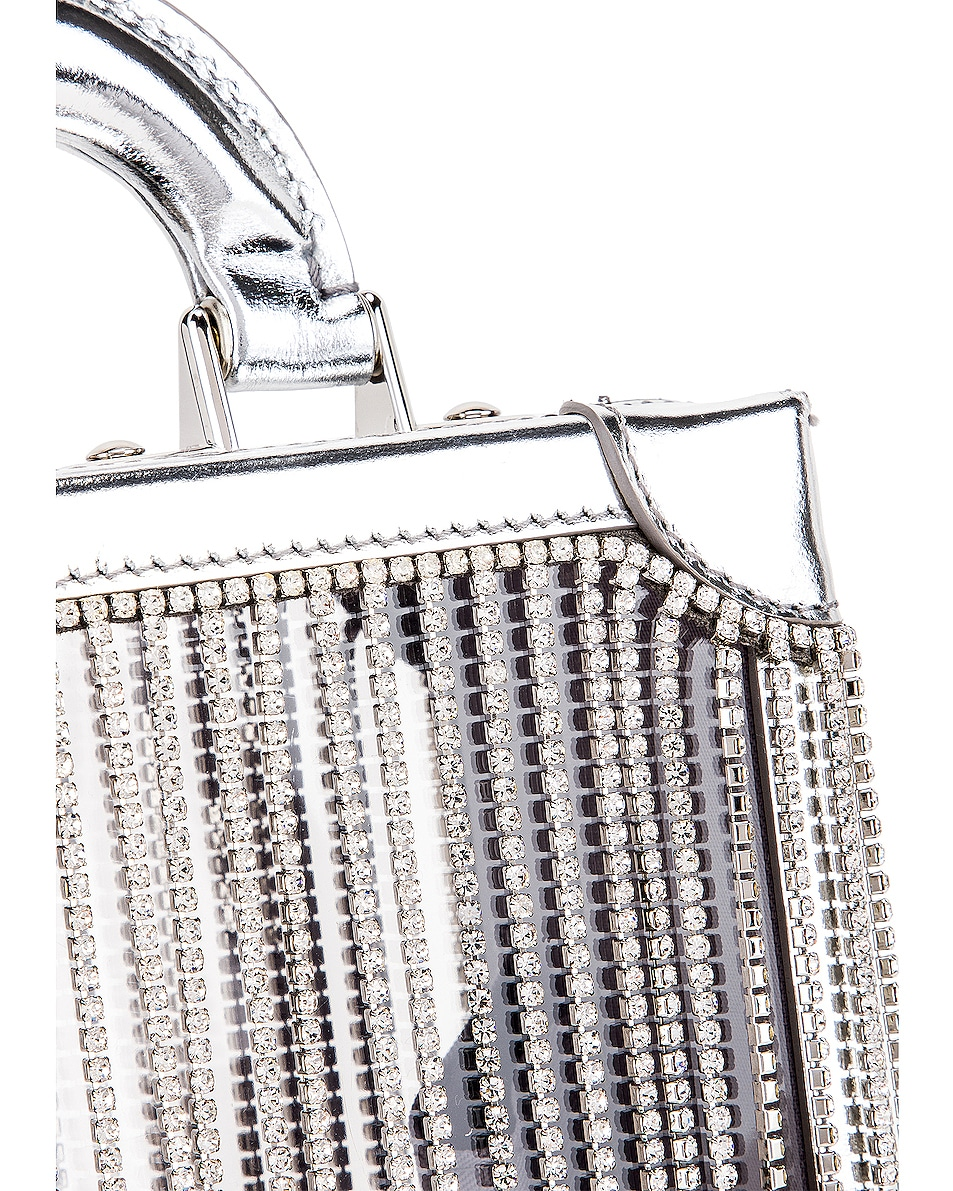 Image 8 of AREA Ling Ling Bag in Silver