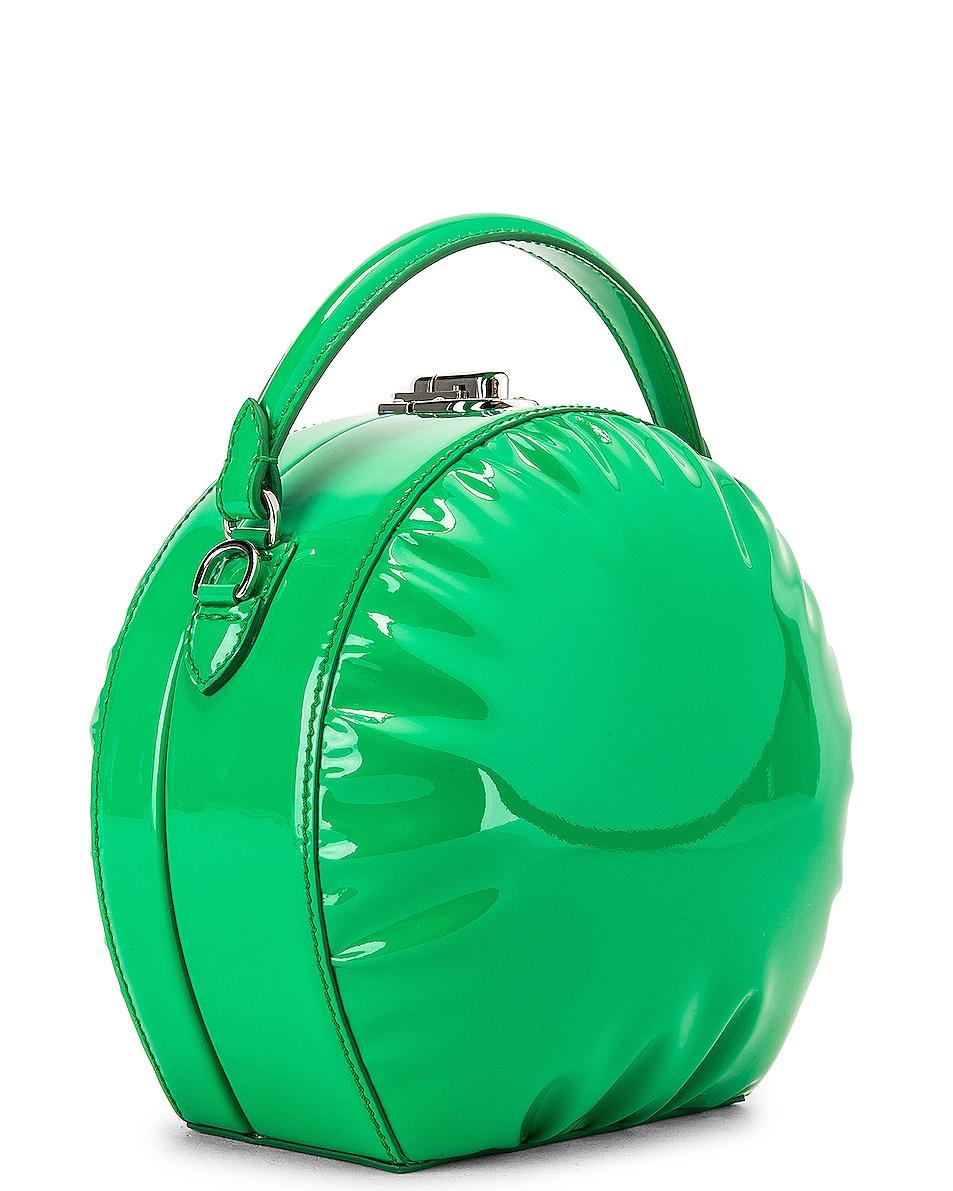 Image 4 of AREA Regina Medium Bag in Green