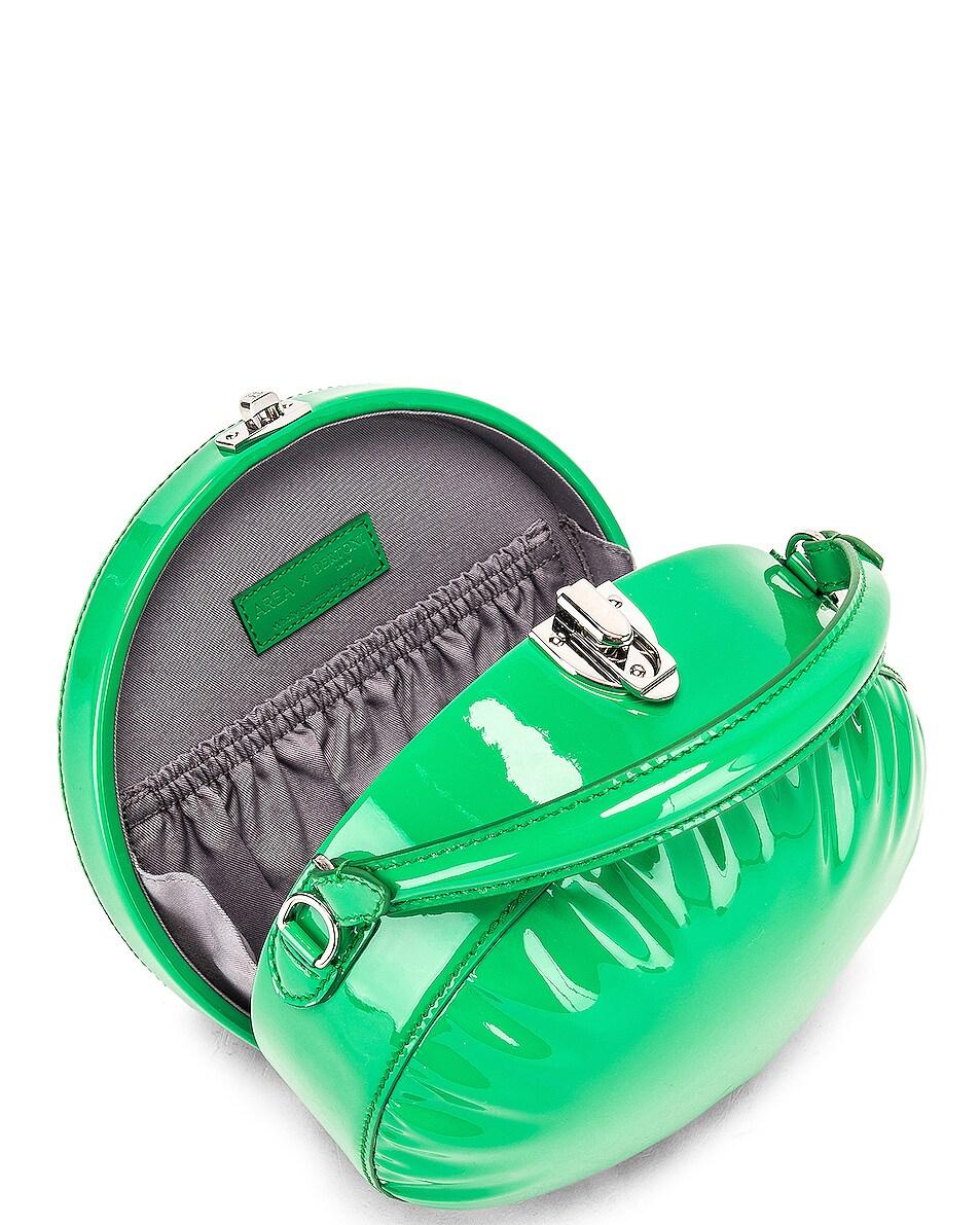 Image 5 of AREA Regina Medium Bag in Green