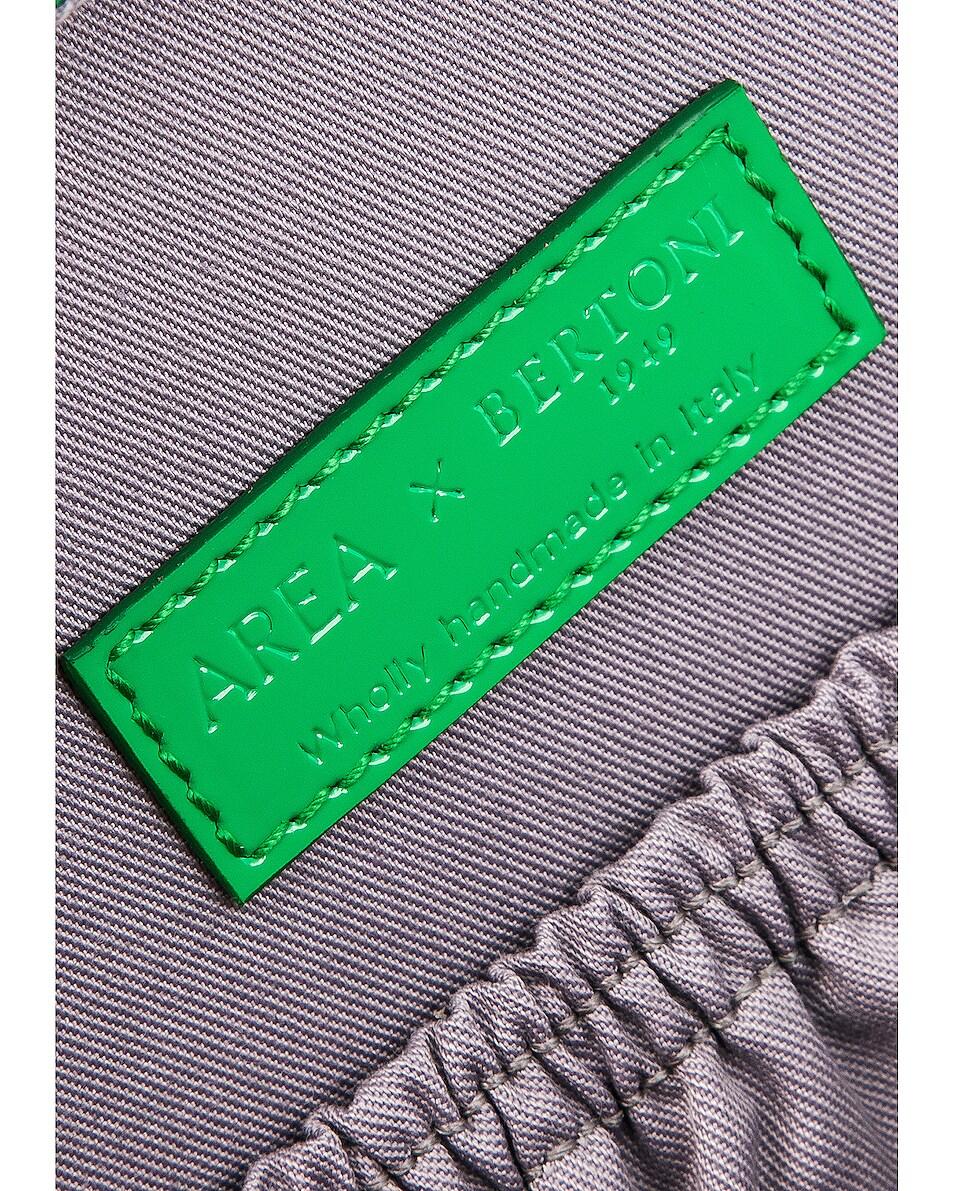 Image 7 of AREA Regina Medium Bag in Green