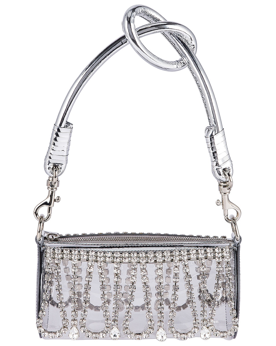 Image 1 of AREA Roll Bag in Silver & Clear