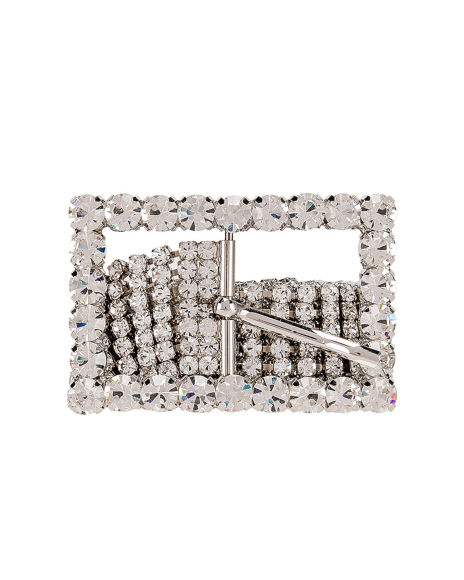 Image 1 of Alessandra Rich Crystal Strass Belt in Silver