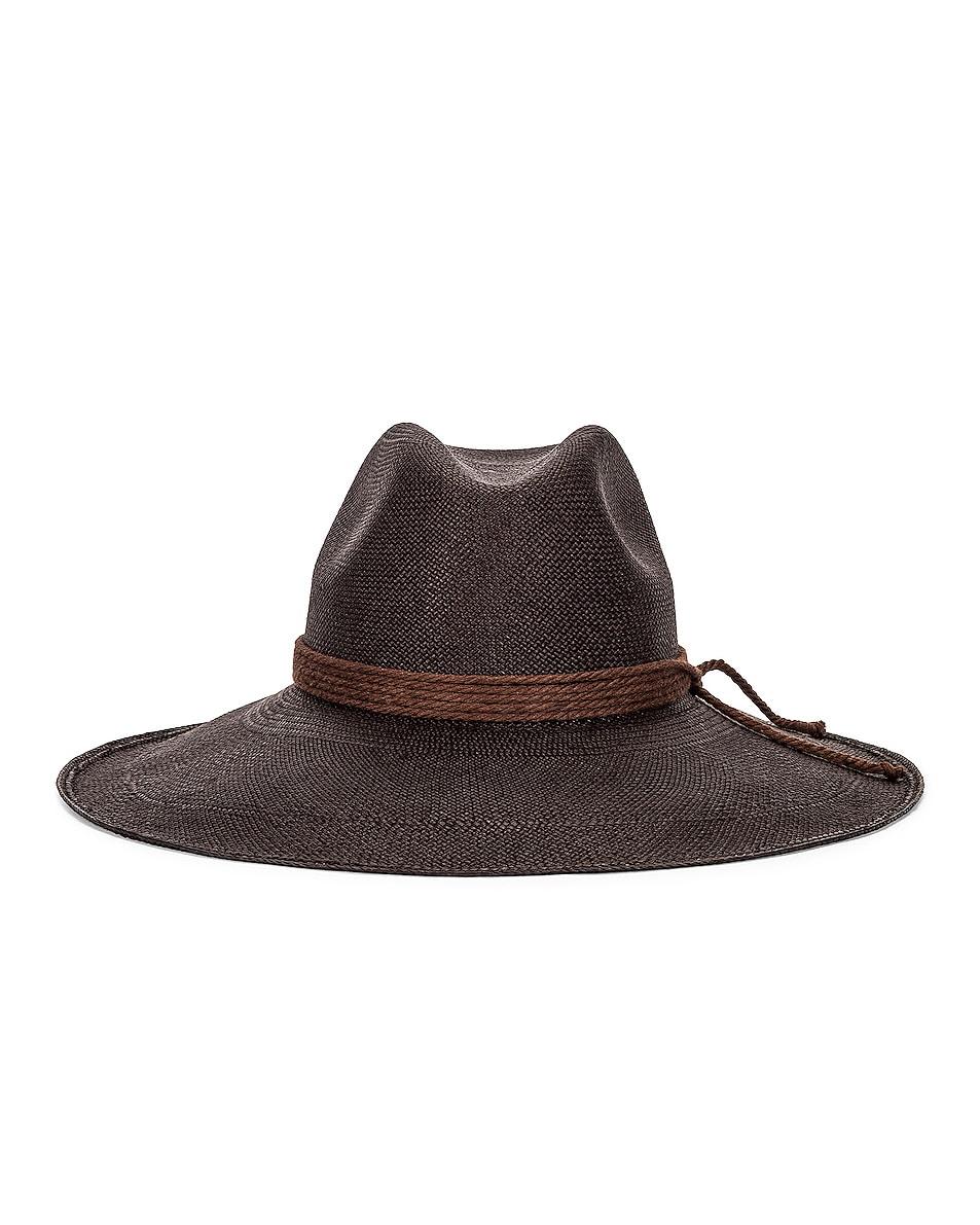 Image 1 of Artesano Nice Wide Brim Hat in Black