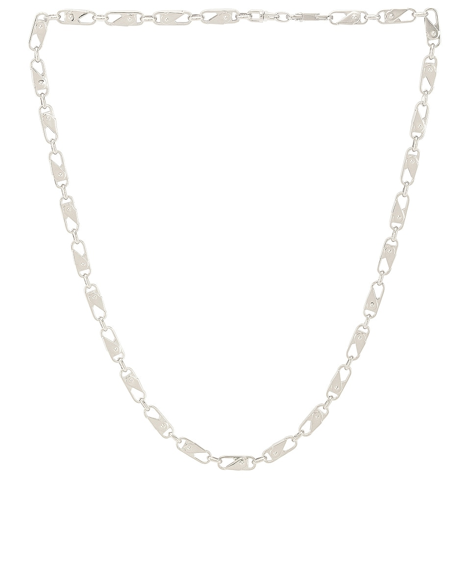 Image 1 of Ambush Sling Snap Necklace in Silver