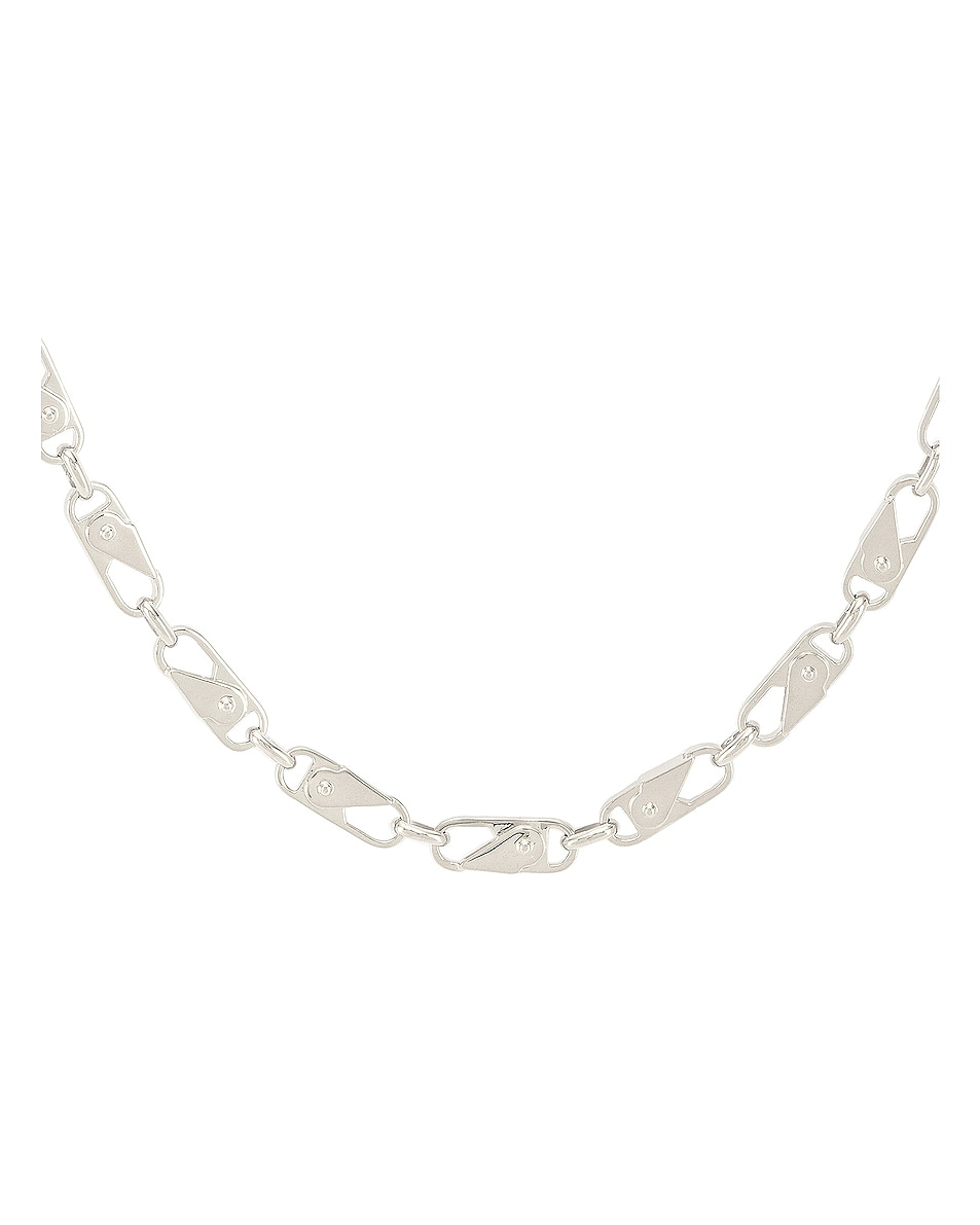 Image 2 of Ambush Sling Snap Necklace in Silver