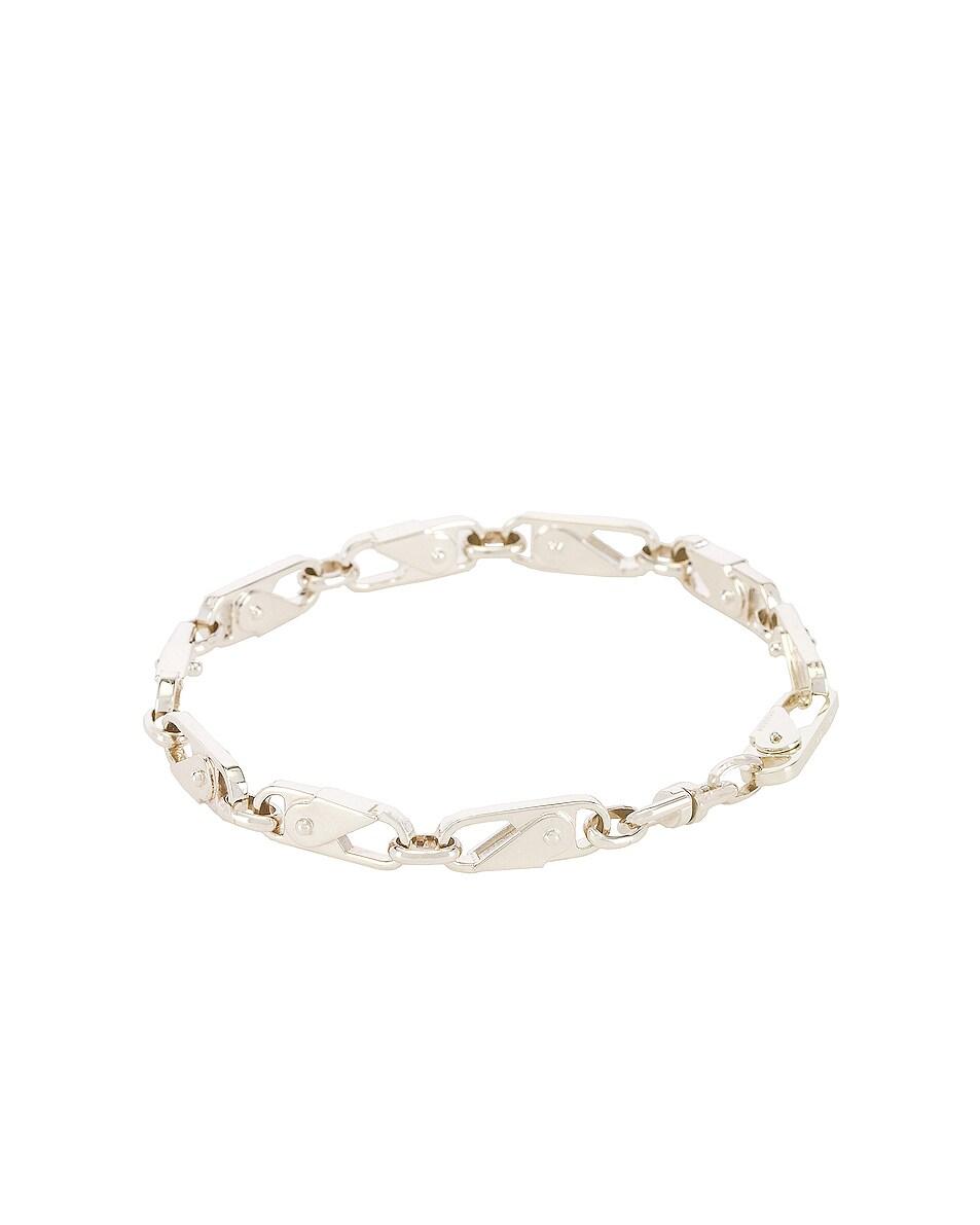 Image 2 of Ambush Sling Snap Bracelet in Silver