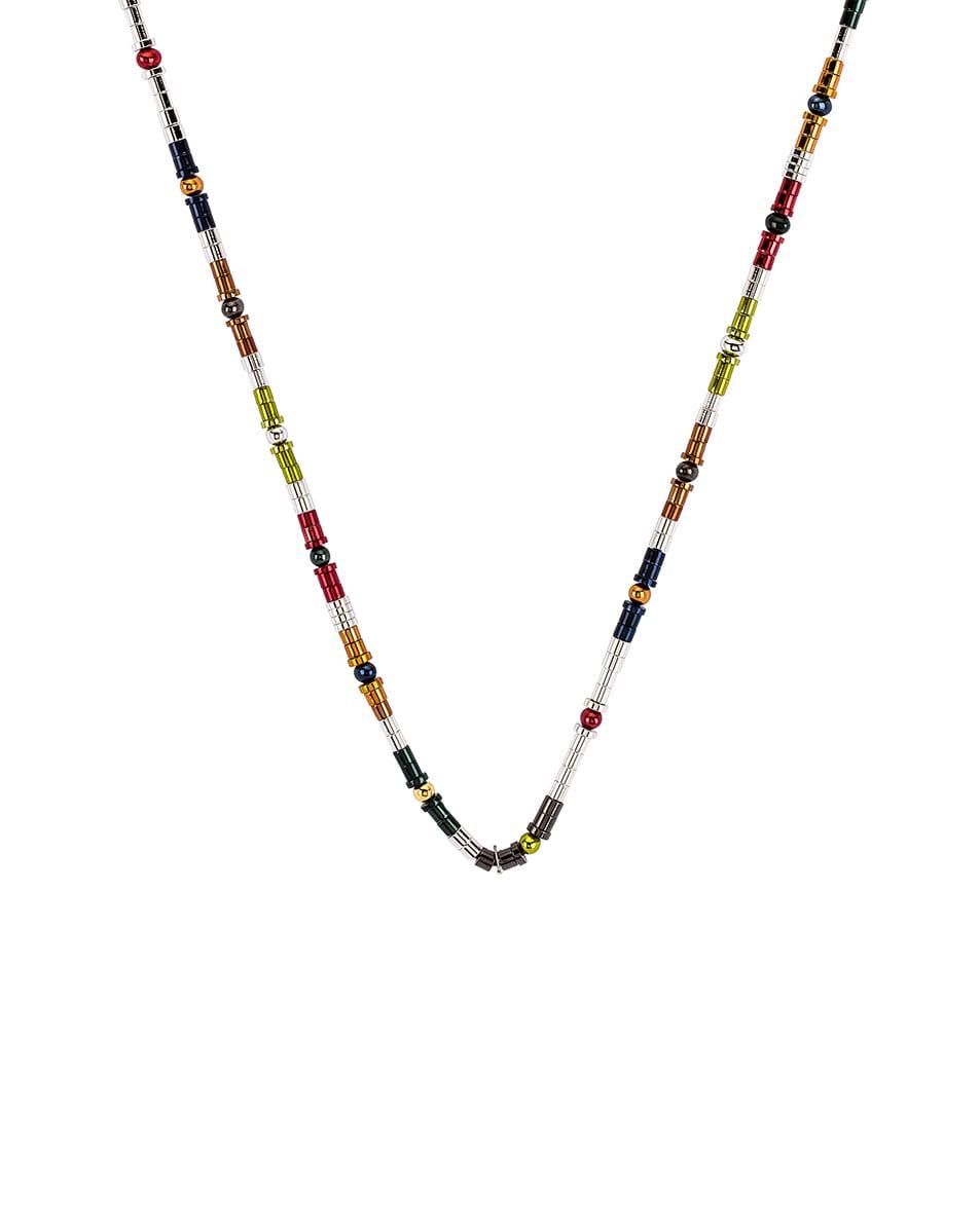 Image 2 of Ambush Classic Multi Metal Beads Necklace in Multi