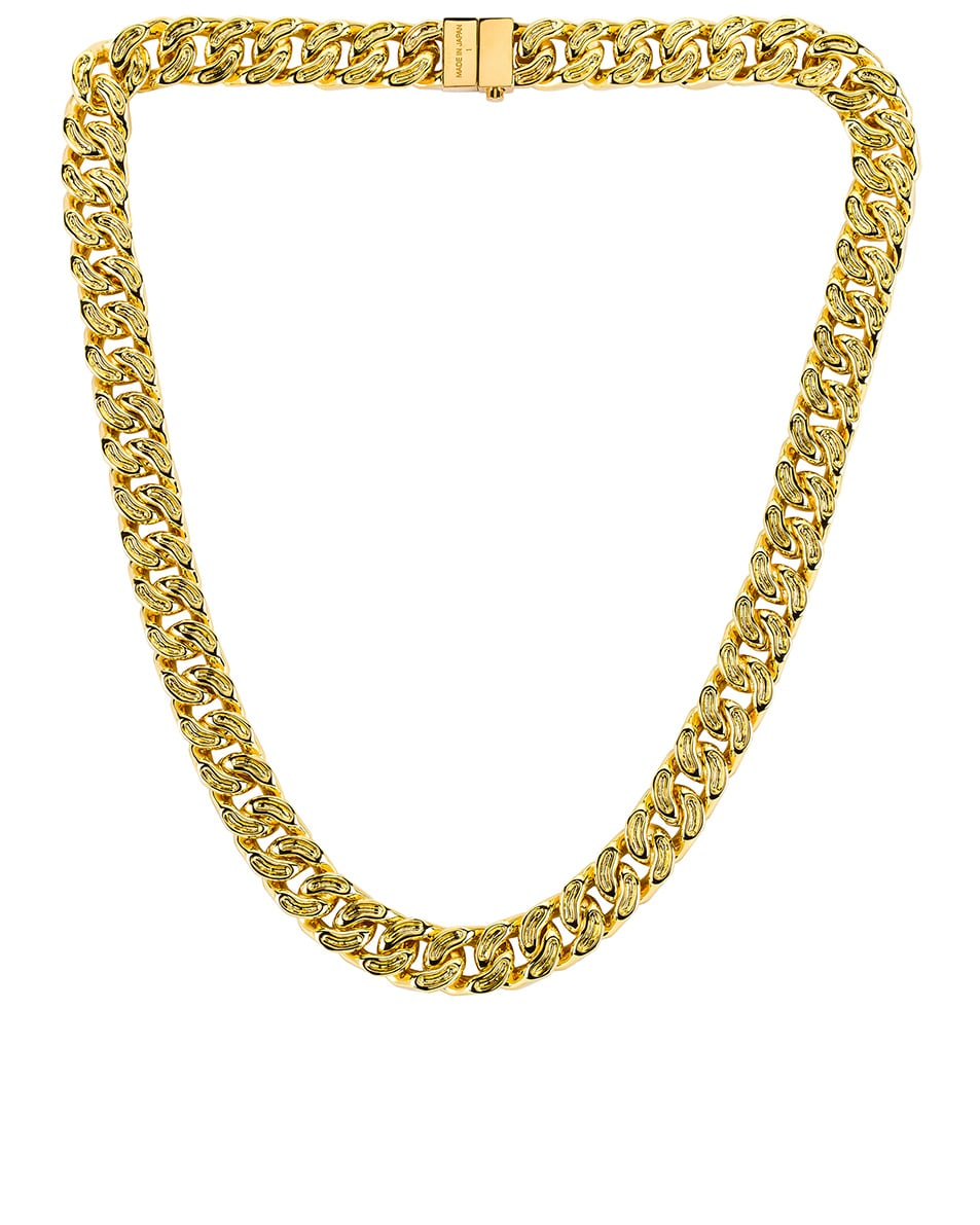 Image 1 of Ambush Classic Chain 7 Necklace in Gold