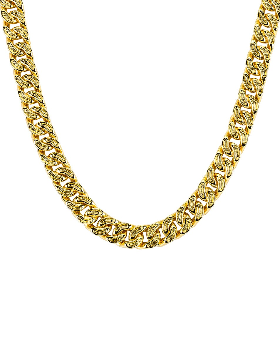 Image 2 of Ambush Classic Chain 7 Necklace in Gold