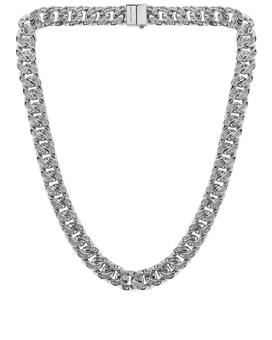 Image 1 of Ambush Classic Chain 7 Necklace in Silver