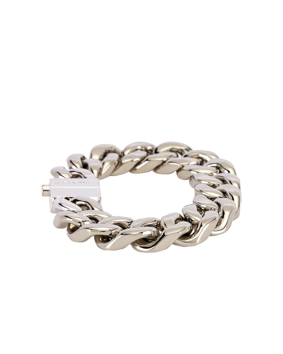 Image 2 of Ambush Classic Chain 7 Bracelet in Silver