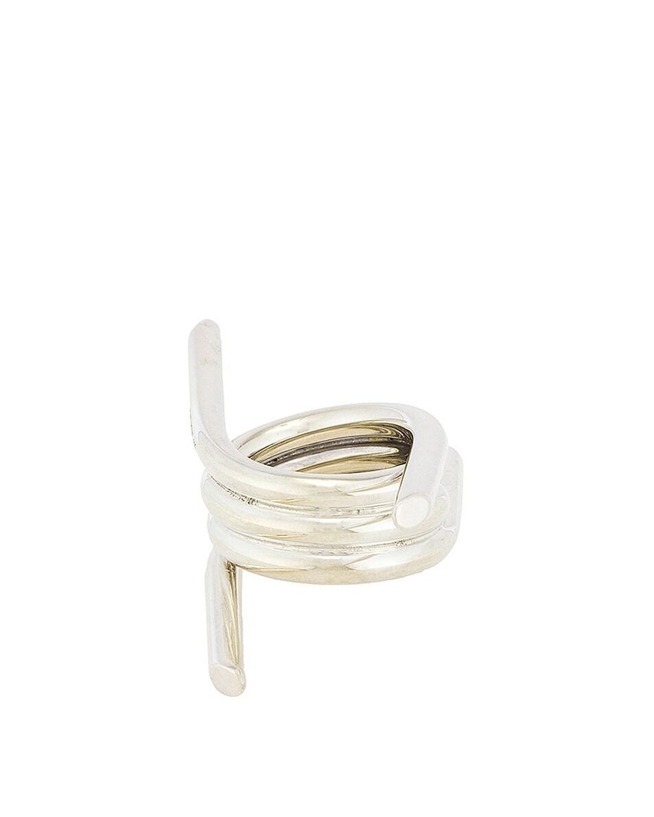 Image 2 of Ambush Barbwire Ring in Silver