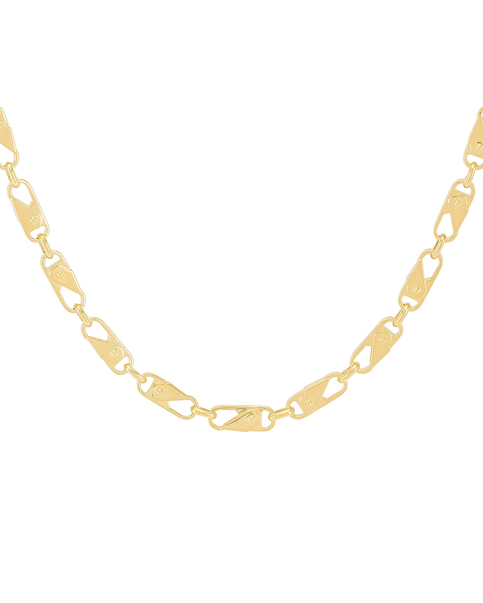 Image 2 of Ambush Sling Snap Necklace in Gold