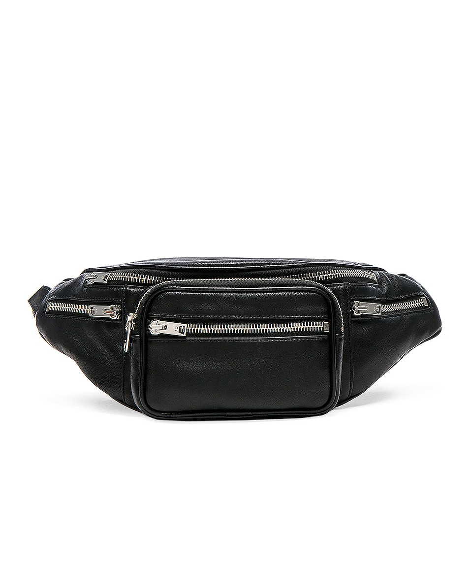 Image 1 of Alexander Wang Attica Fanny Pack in Black