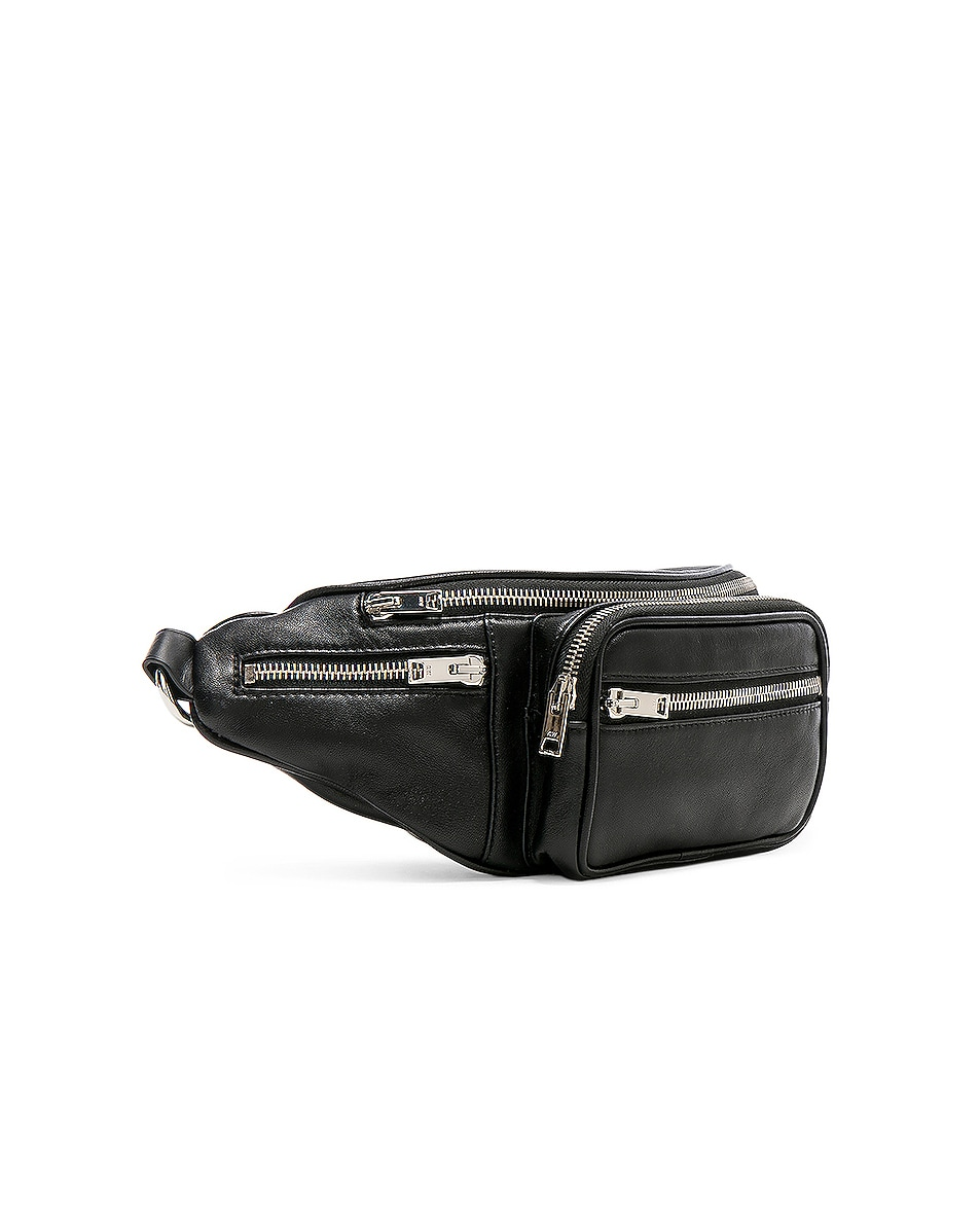 Image 4 of Alexander Wang Attica Fanny Pack in Black