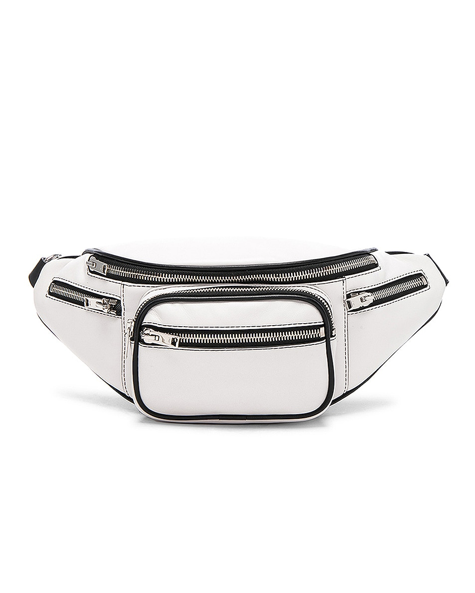 Image 1 of Alexander Wang Attica Soft Fanny Pack in White