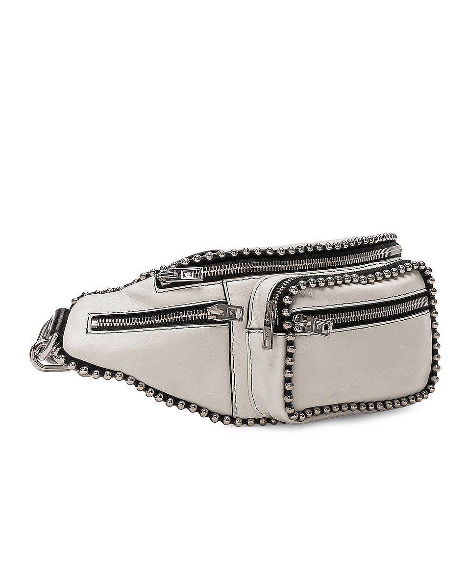 Image 4 of Alexander Wang Attica Ball Chain Fanny Pack in White