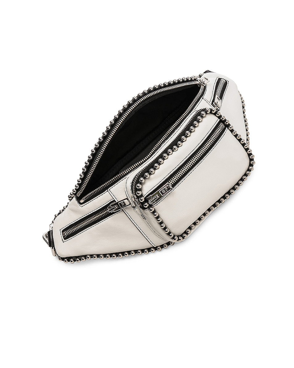 Image 5 of Alexander Wang Attica Ball Chain Fanny Pack in White