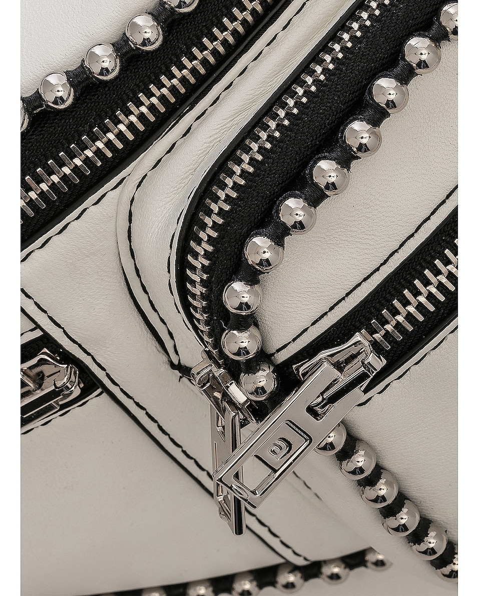 Image 7 of Alexander Wang Attica Ball Chain Fanny Pack in White