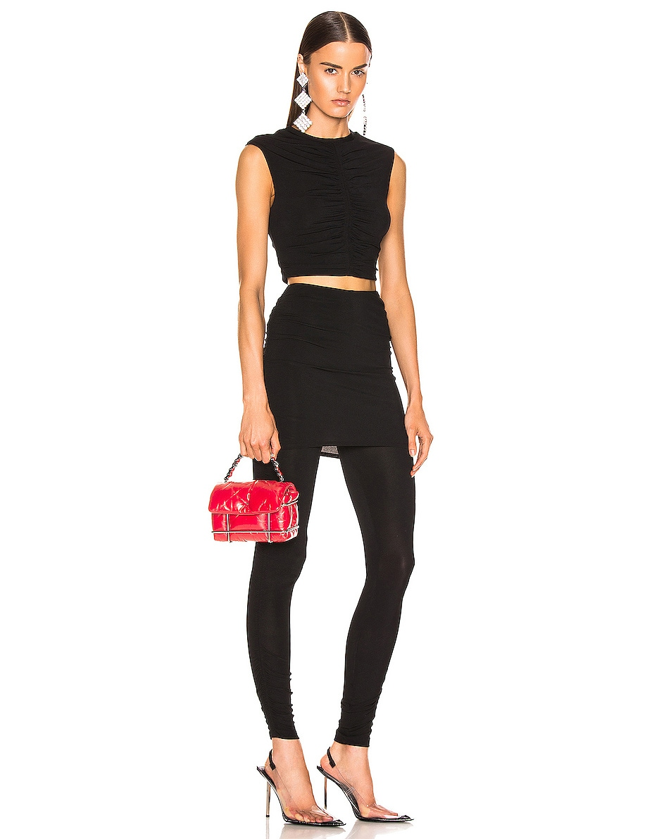 Image 2 of Alexander Wang Halo Quilted Bag in Red