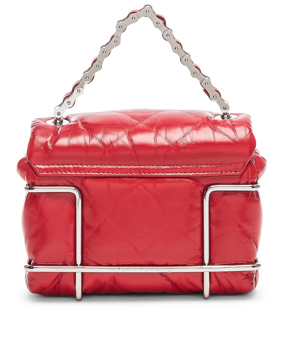 Image 3 of Alexander Wang Halo Quilted Bag in Red