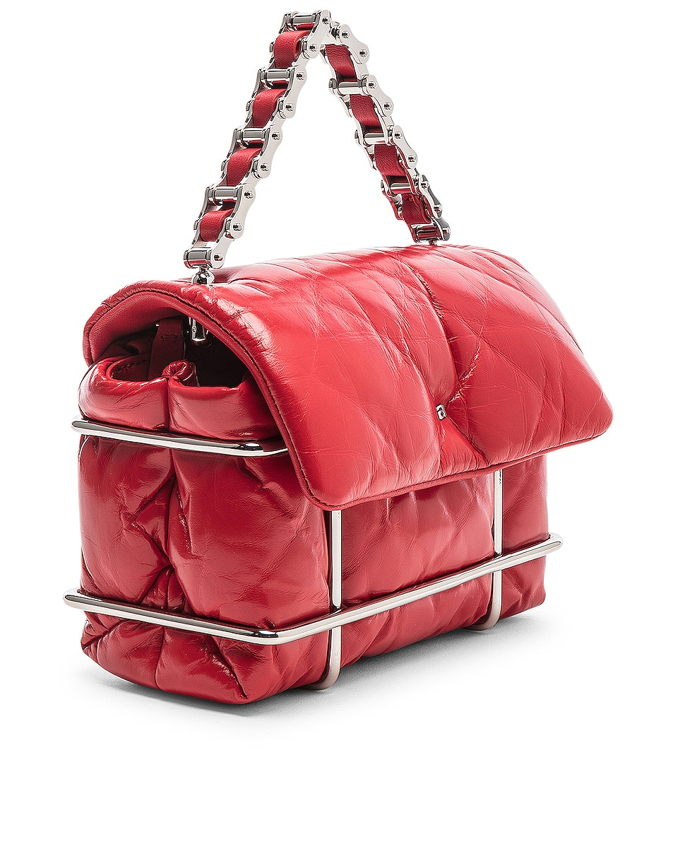 Image 4 of Alexander Wang Halo Quilted Bag in Red