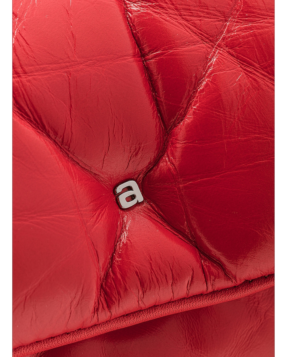 Image 8 of Alexander Wang Halo Quilted Bag in Red