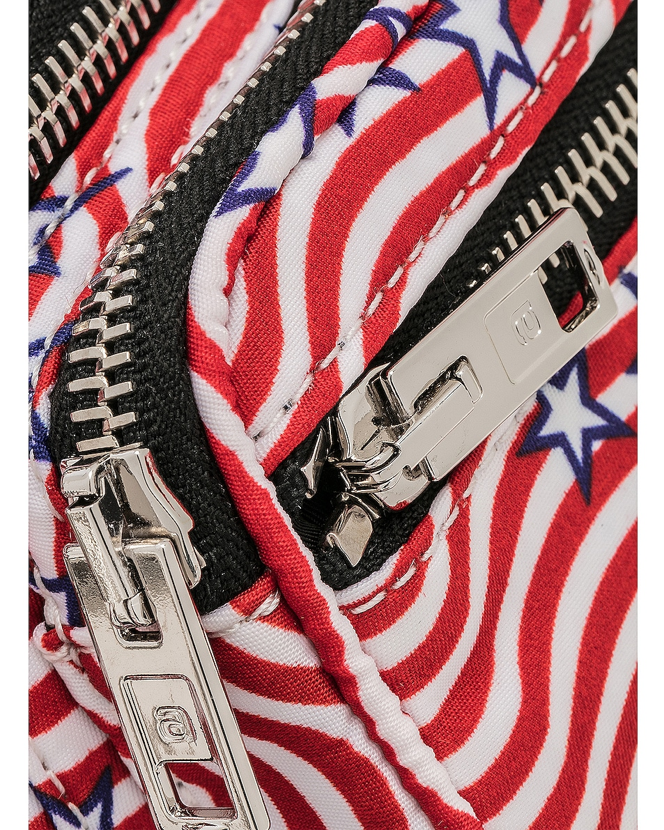 Image 6 of Alexander Wang Attica Stars and Stripes Mini Fanny Pack in Multi