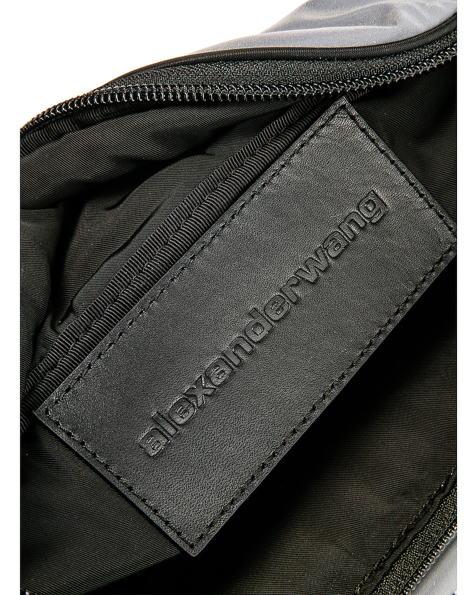 Image 6 of Alexander Wang Attica Soft Fanny Pack in Reflective Silver